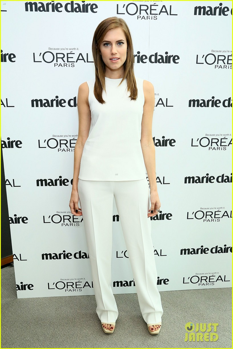 allison williams marie claire power women lunch 05