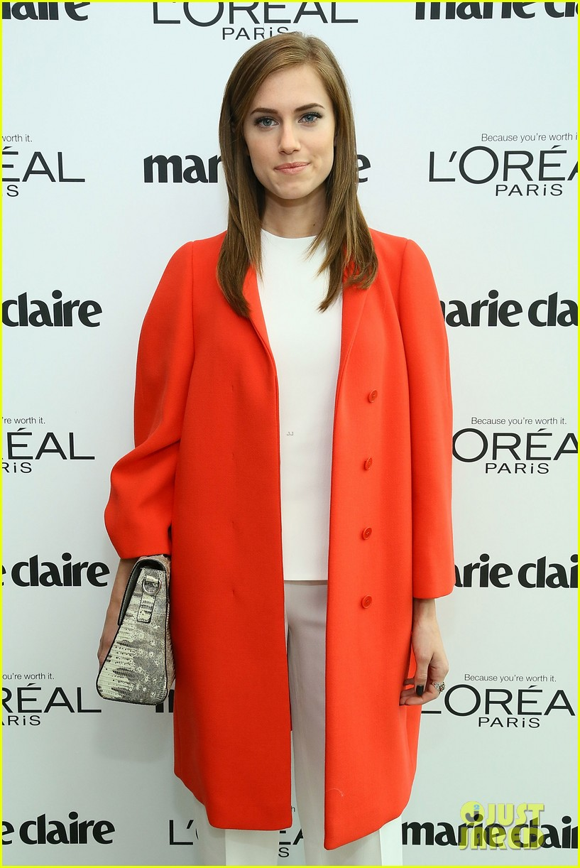 allison williams marie claire power women lunch 08