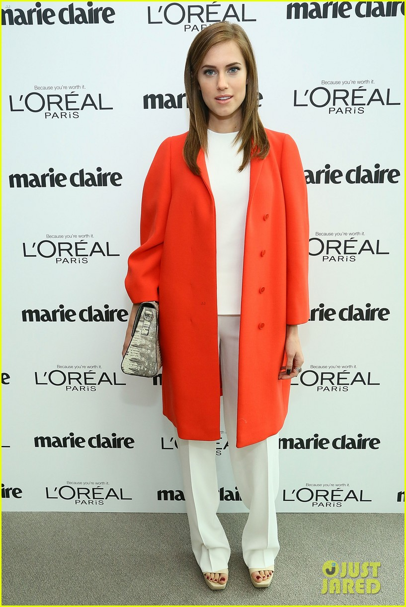 allison williams marie claire power women lunch 13