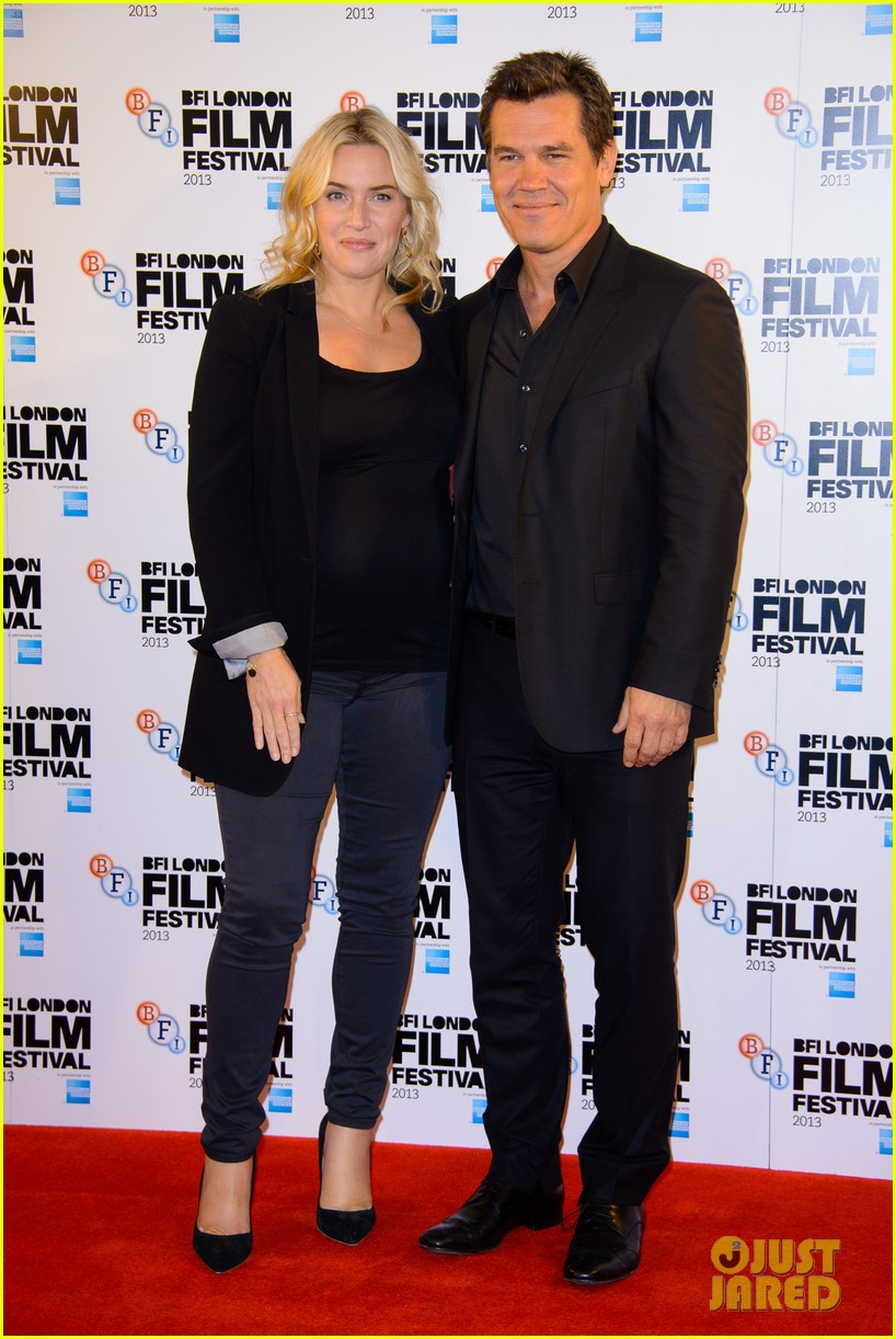 kate winslet josh brolin labor day bfi fest photo call 012971633