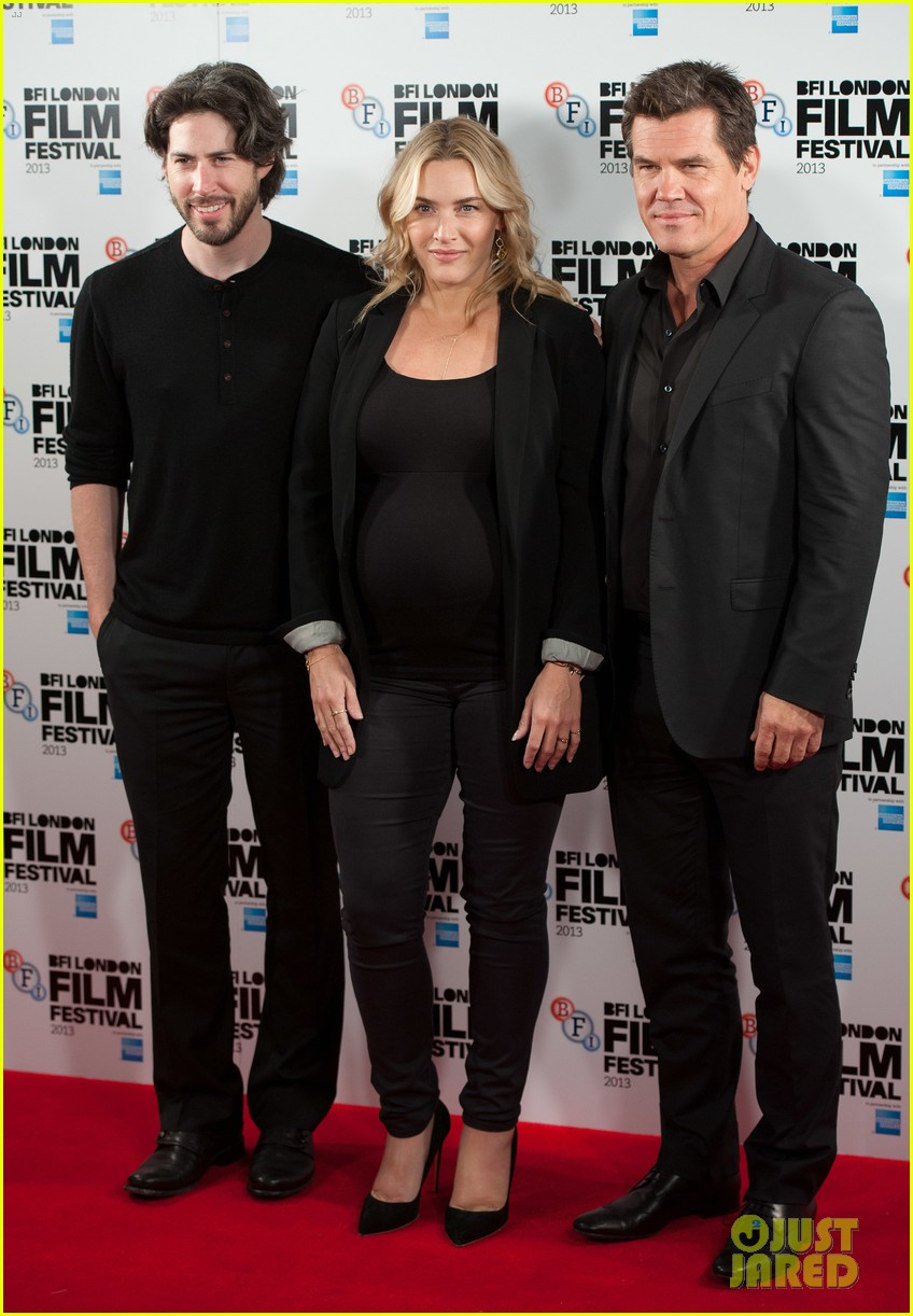 kate winslet josh brolin labor day bfi fest photo call 16