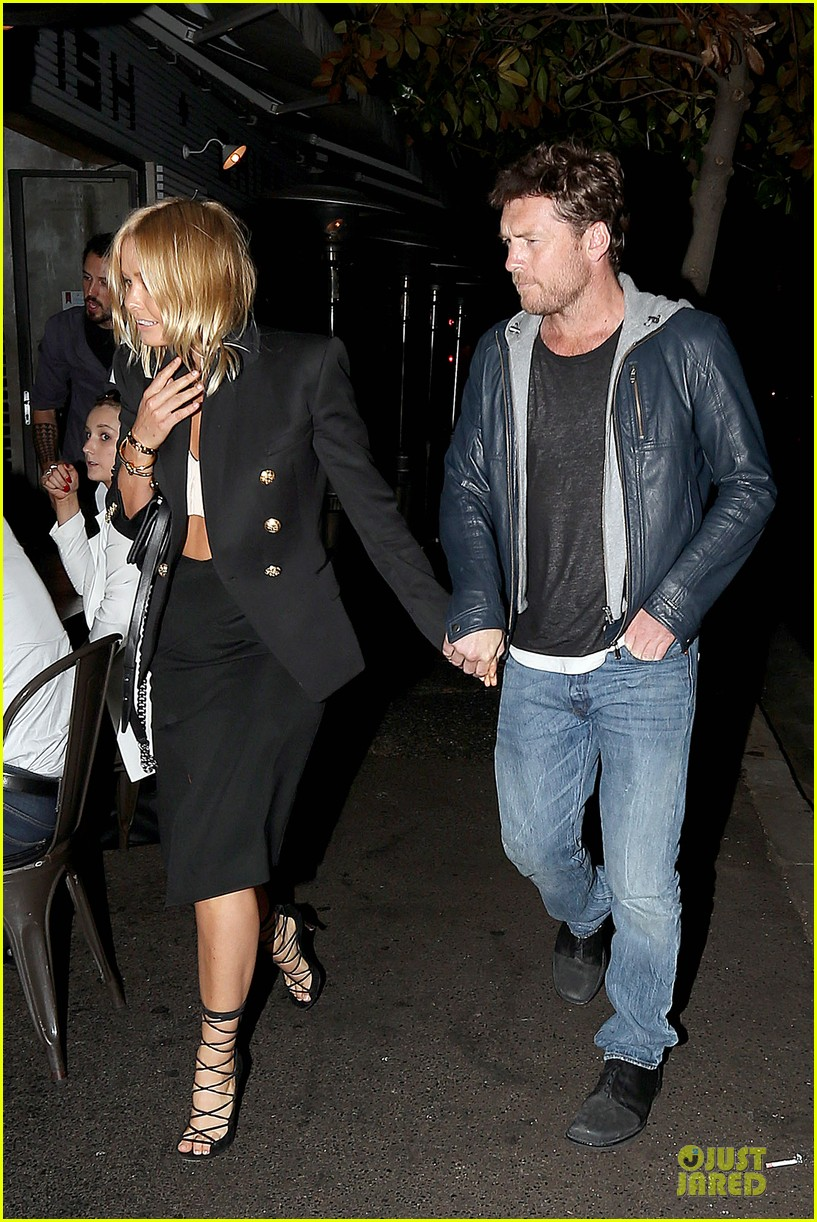 sam worthington lara bingle new couple alert 172969225