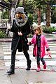 jessica alba cash warren wet family stroll after thanksgiving 13