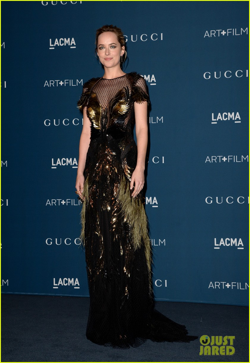 drew barrymore dakota johnson lacma art film gala 21