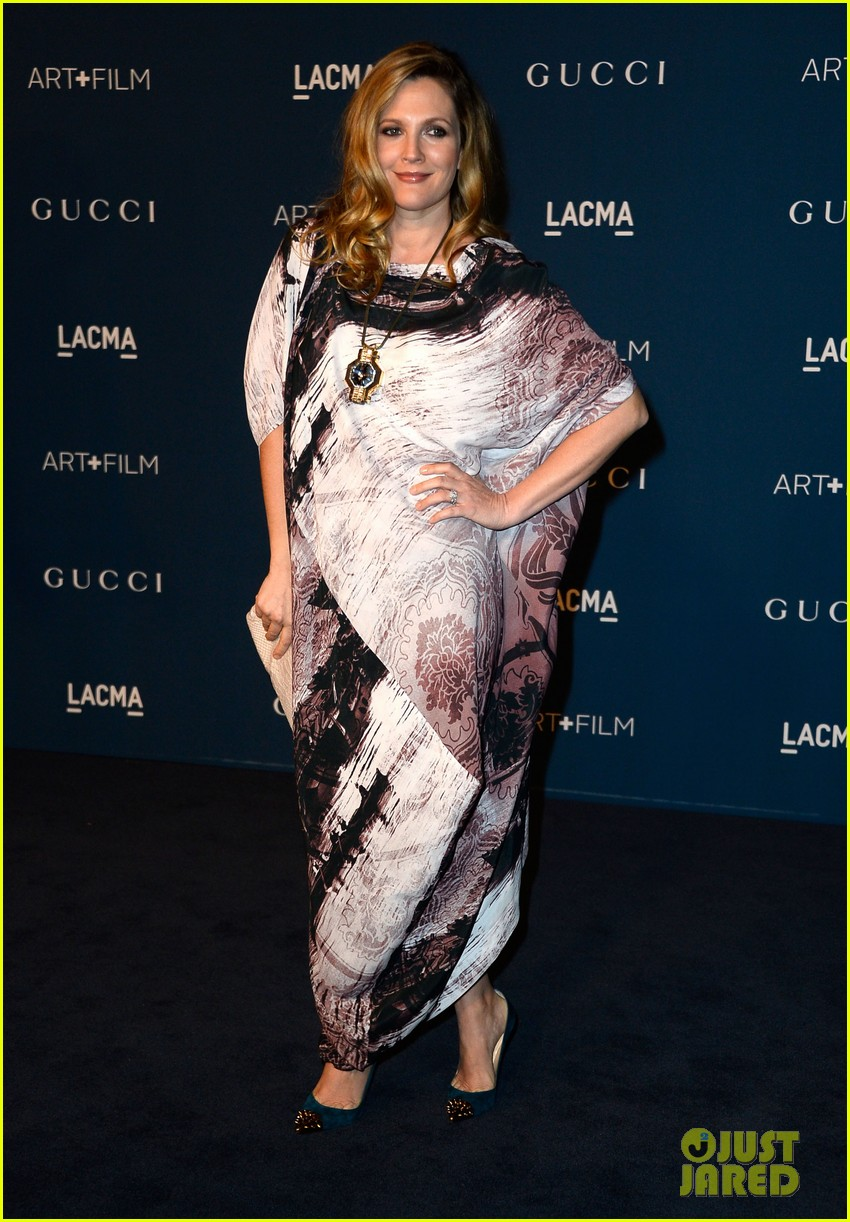 drew barrymore dakota johnson lacma art film gala 252985398