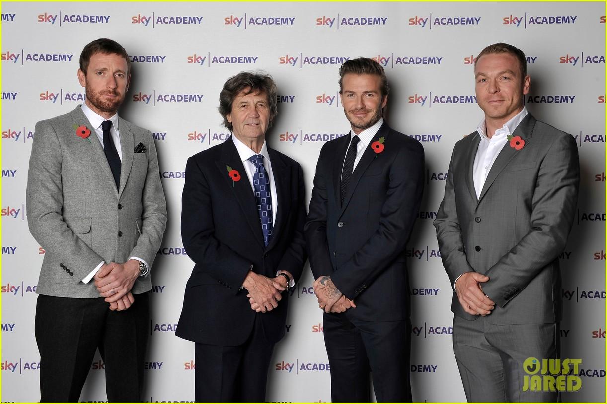 david beckham sky academy launch 012986573