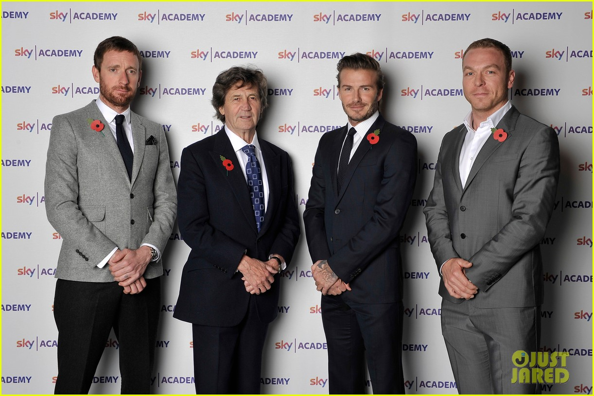 david beckham sky academy launch 04