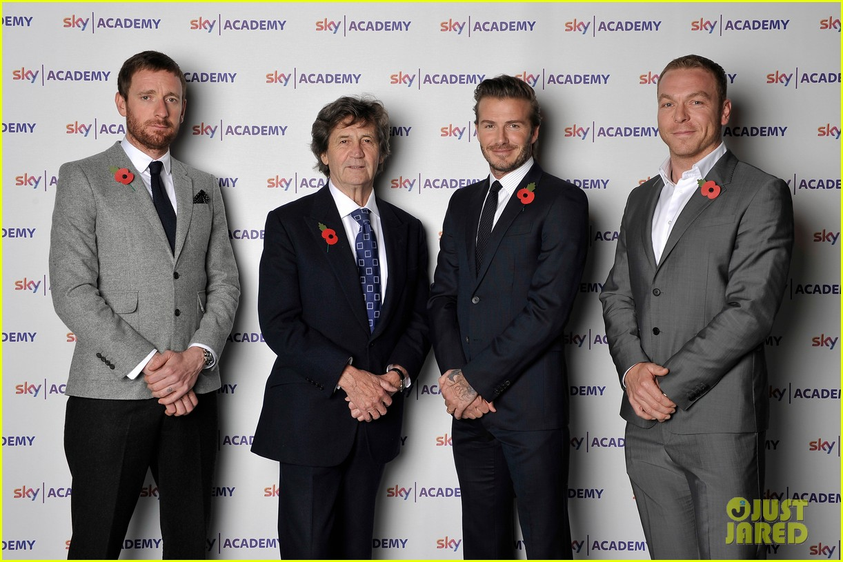 david beckham sky academy launch 06