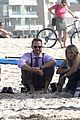 kristen bell house of cards beach filming 13