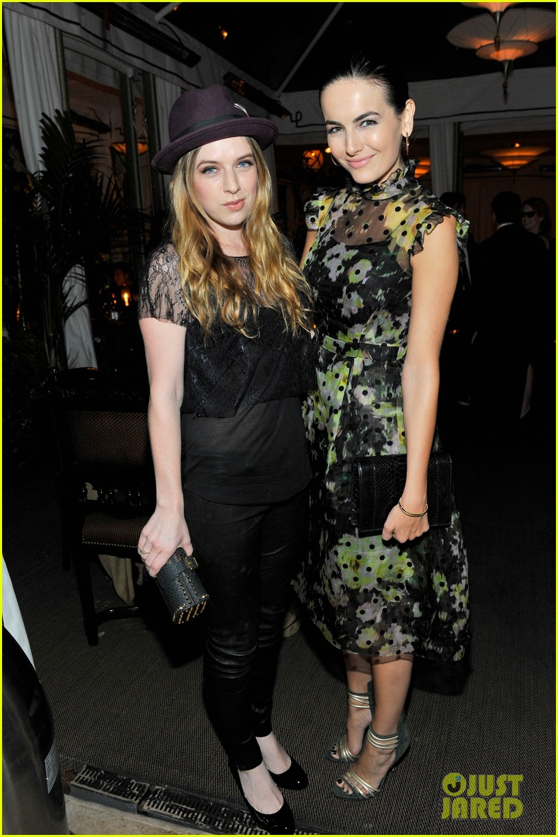 camilla belle jessica pare erdem chateau marmont dinner 04