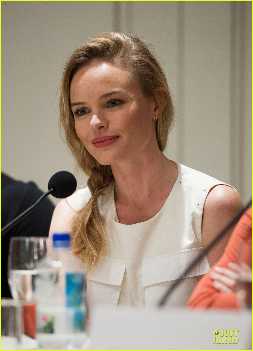 kate bosworth james franco homefront press conference 07
