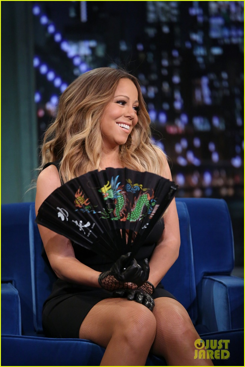 mariah carey promotes art of letting go on jimmy fallon 02
