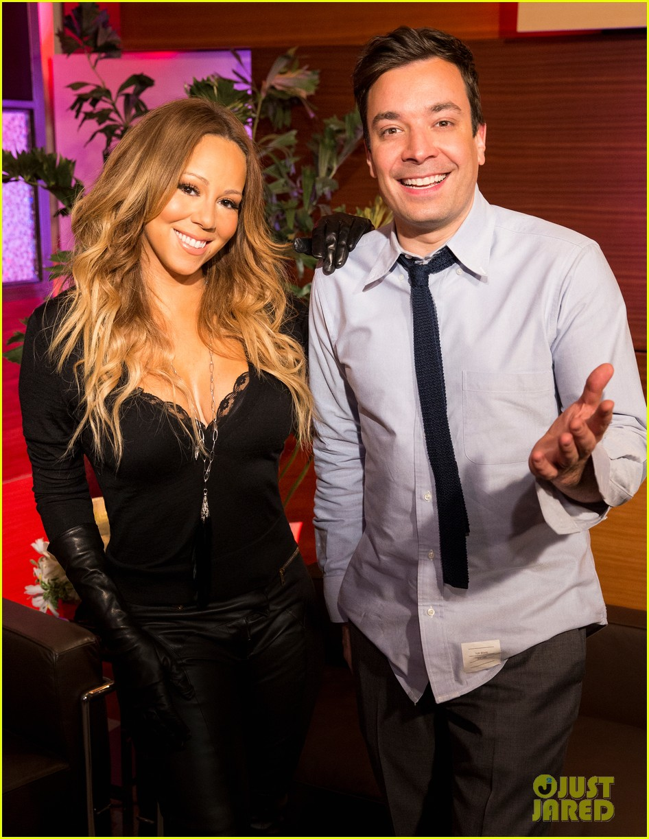 mariah carey promotes art of letting go on jimmy fallon 04