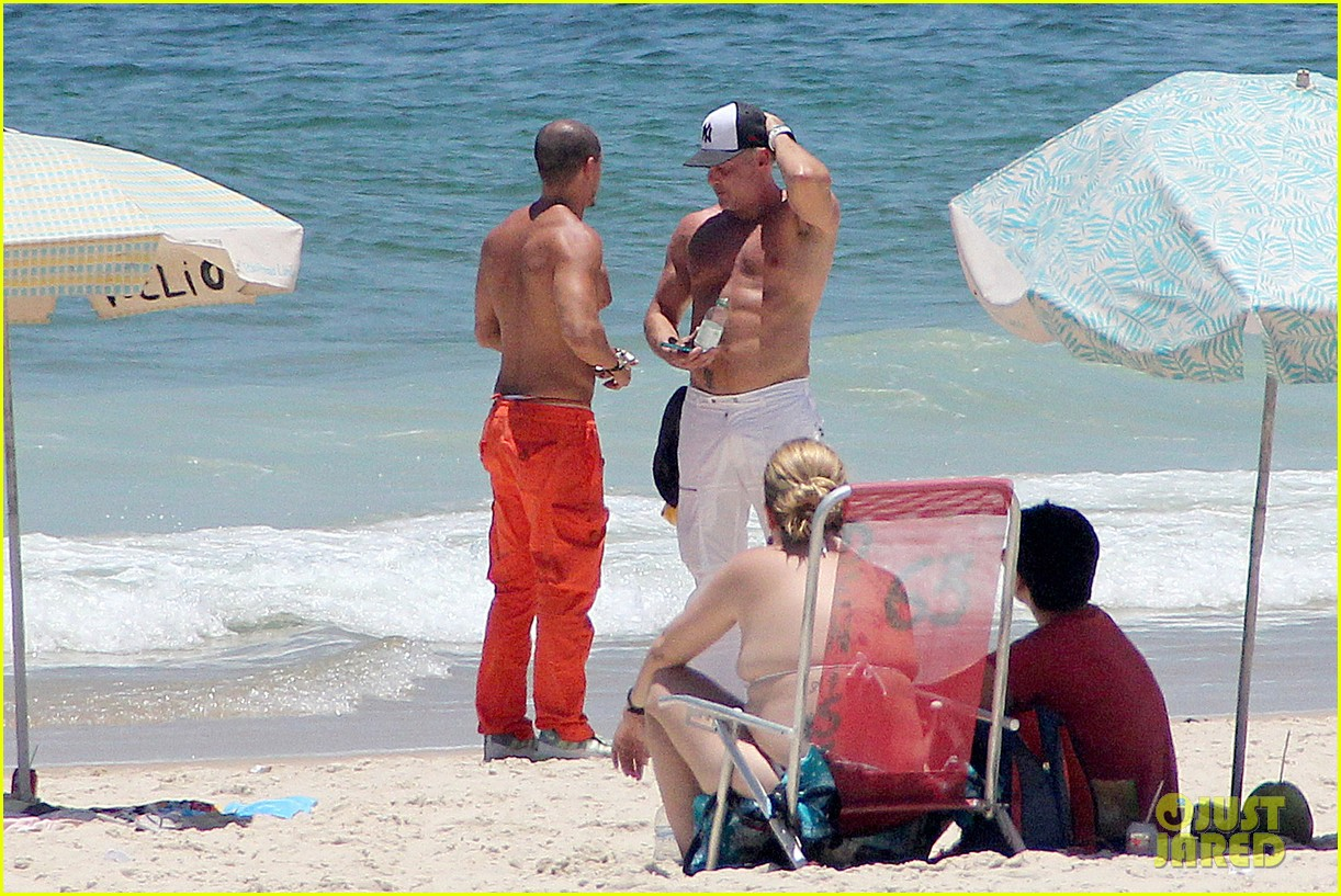 gma sam champion continues shirtless honeymoon 24