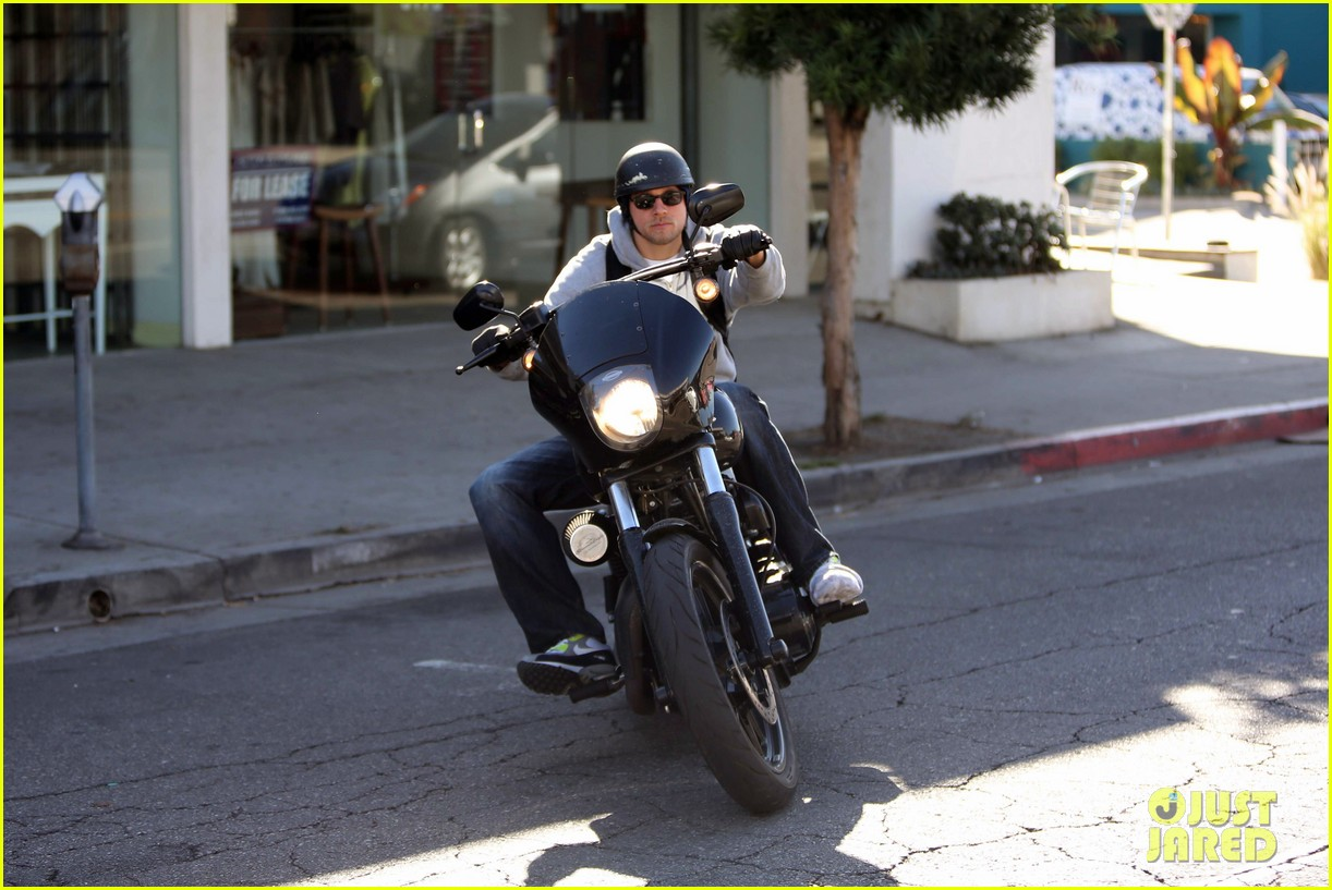 charlie hunnam west hollywood motorcycle man 06