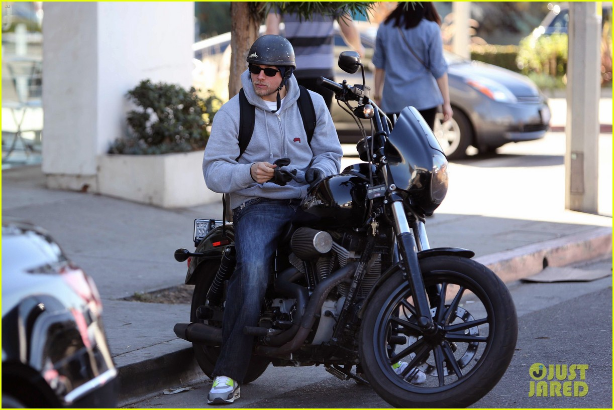charlie hunnam west hollywood motorcycle man 09