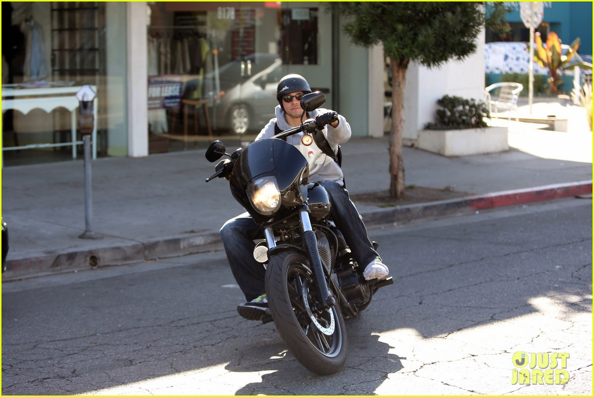 charlie hunnam west hollywood motorcycle man 13