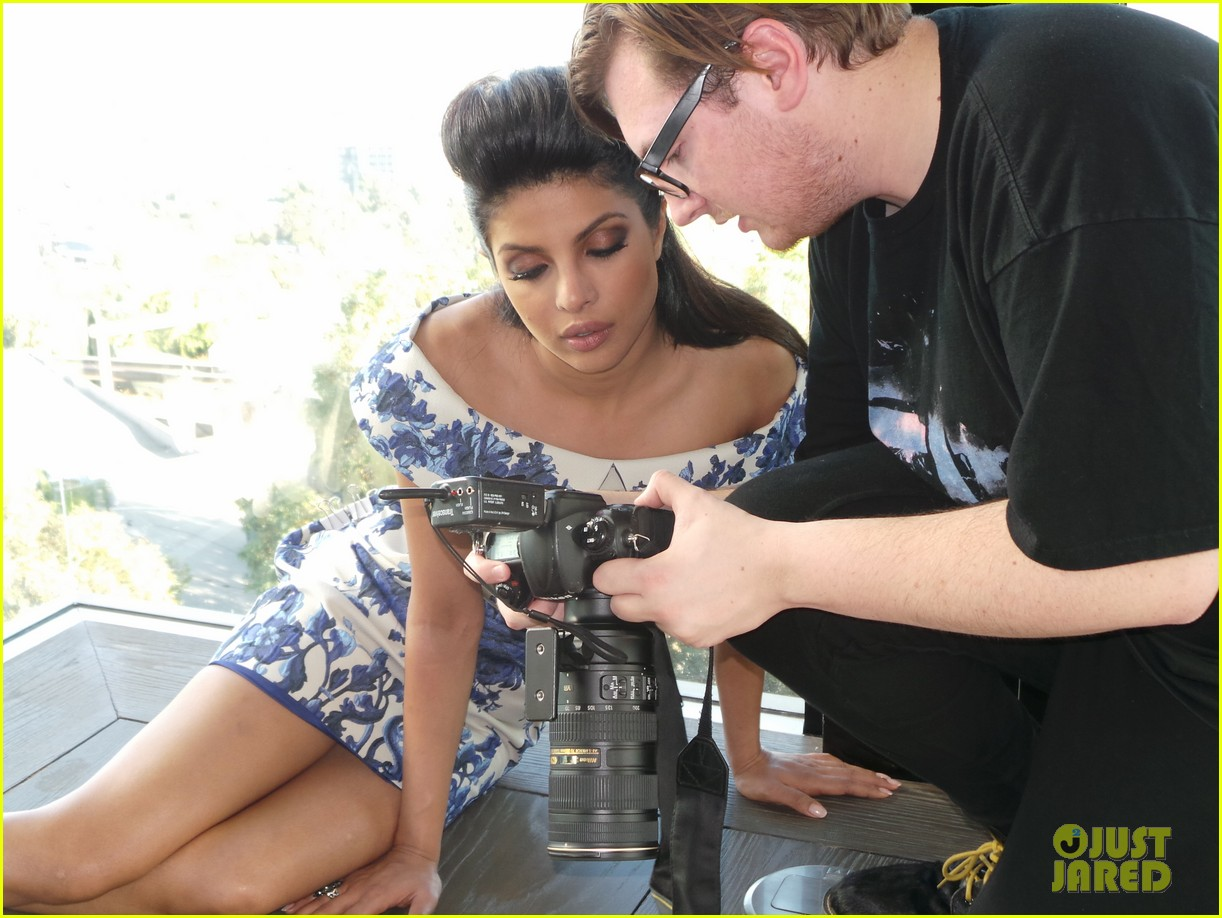 priyanka chopra just jared spotlight of the week behind the scenes pics 08