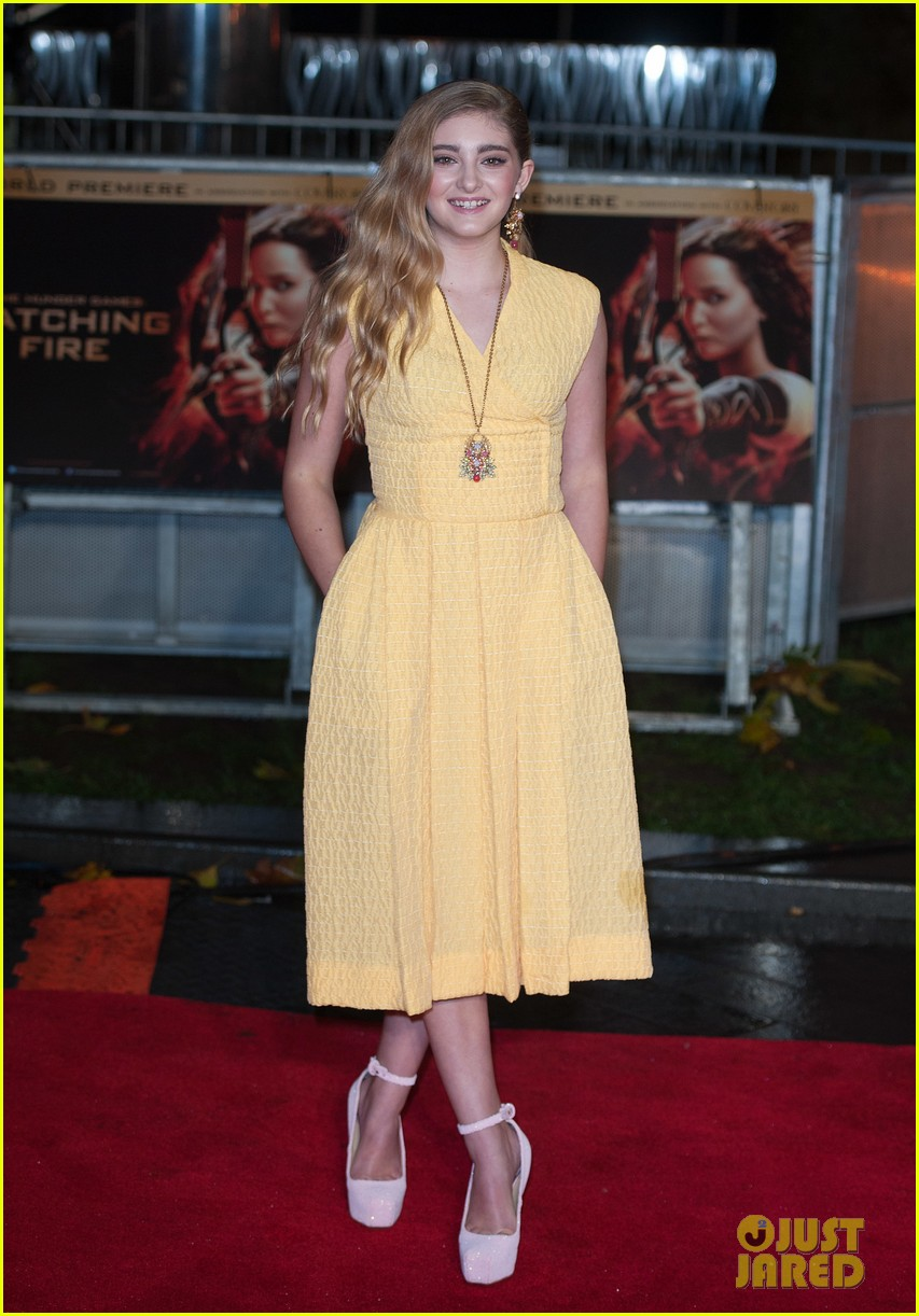Sam Claflin & Willow Shields: 'Catching Fire' London Premiere!