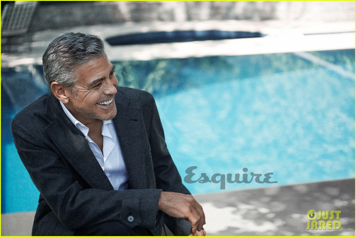 george clooney talks fame twitter brad pitt with esquire 062990313