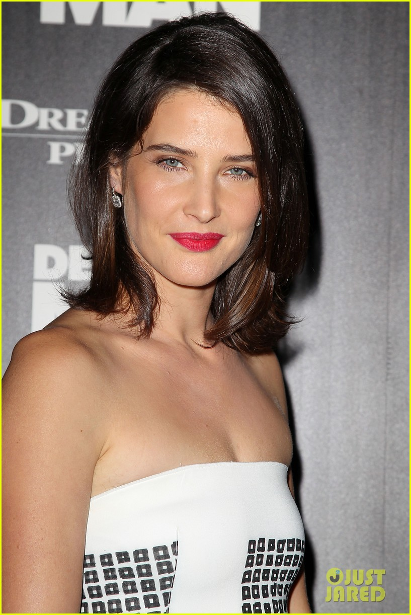 cobie smulders delivery man premiere with vince vaughn 12