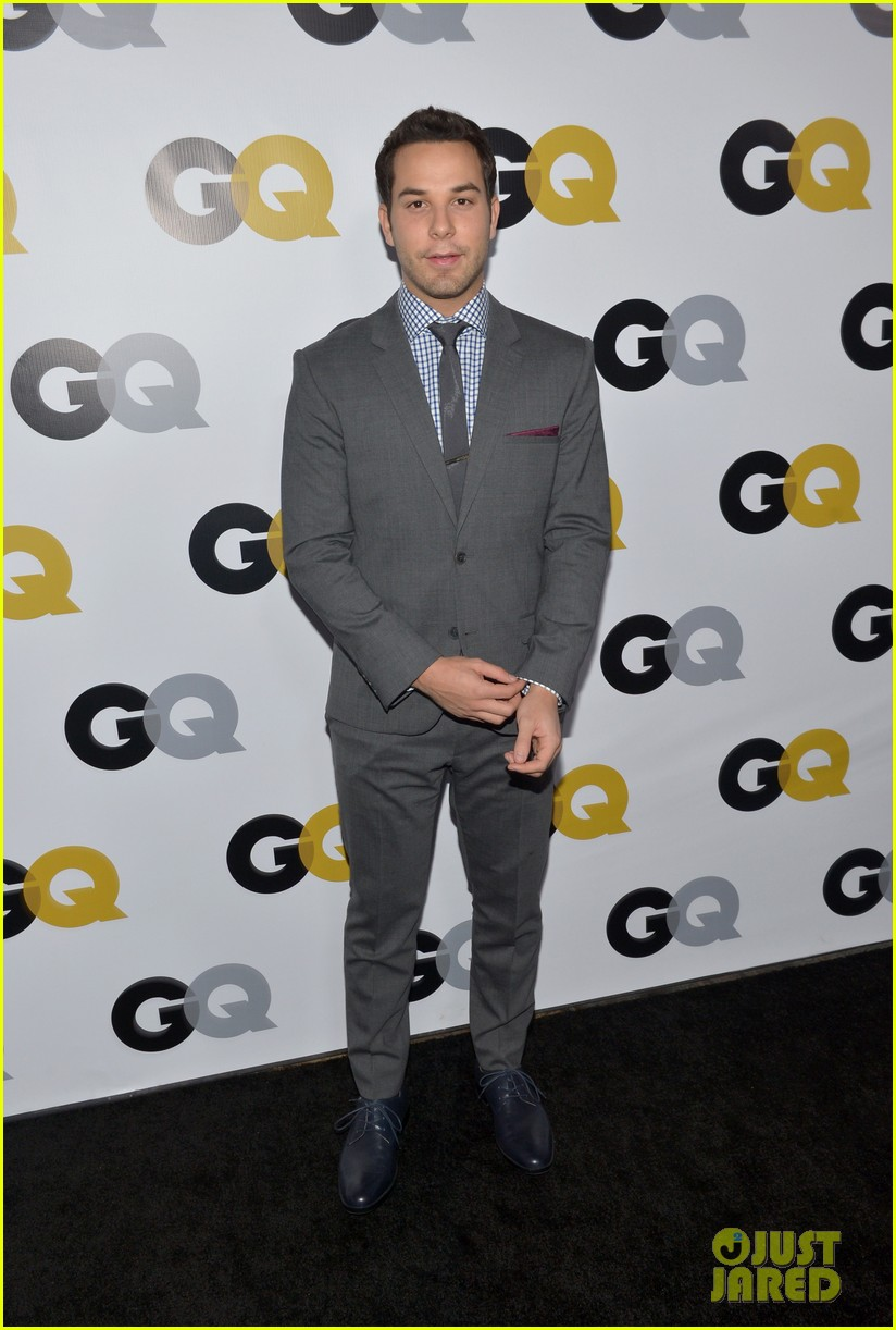 chace crawford matthew morrison gq men of the year party 09