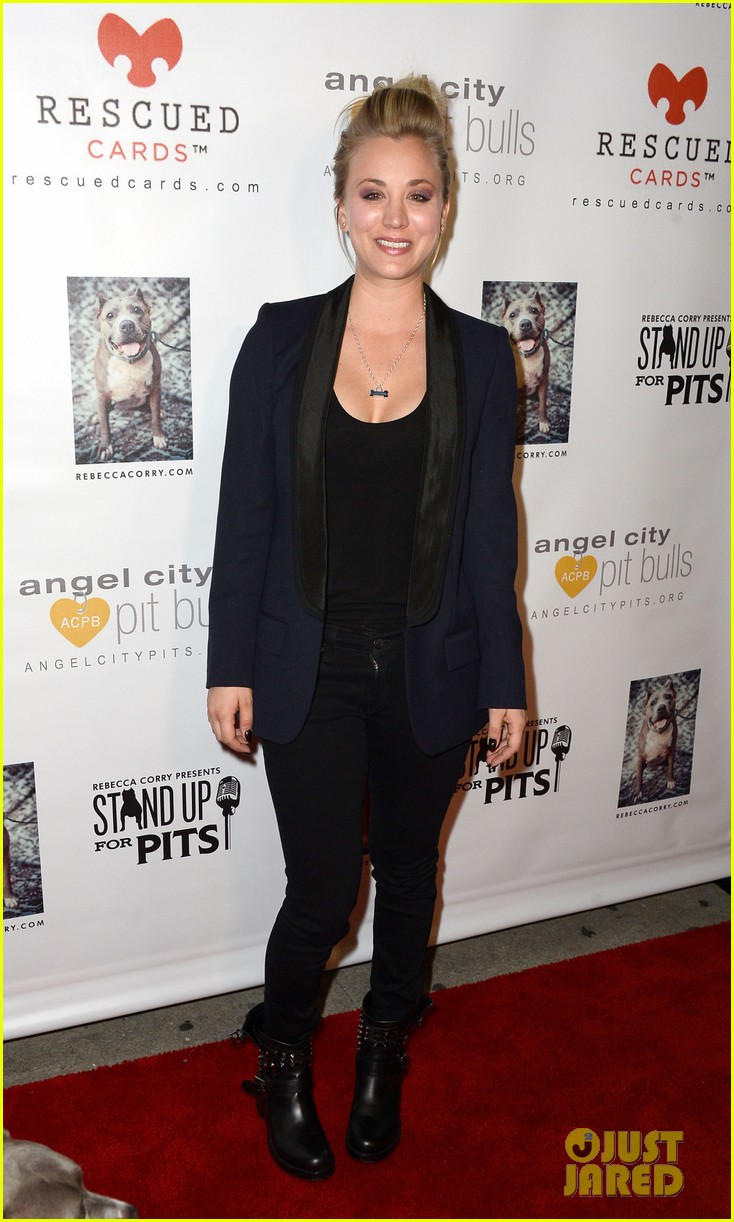 kaley cuoco ryan sweeting stand up for pits 08