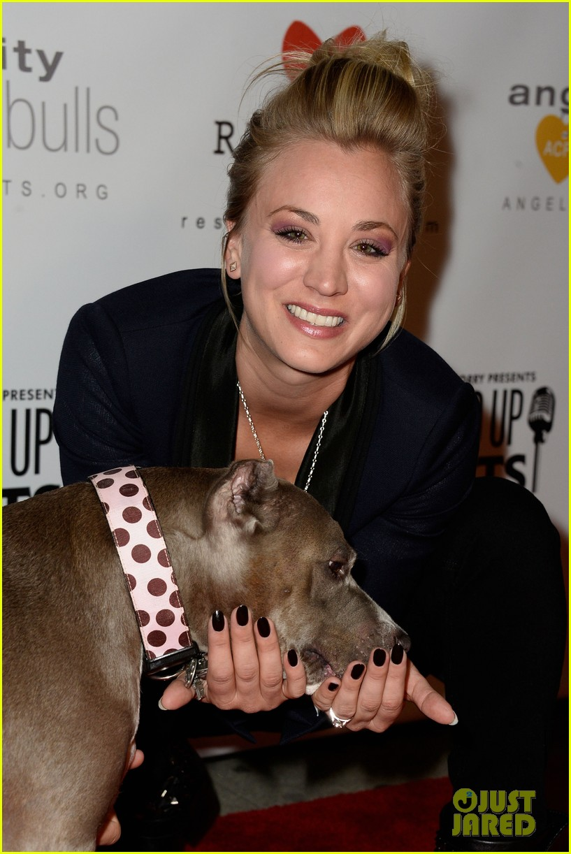 kaley cuoco ryan sweeting stand up for pits 15
