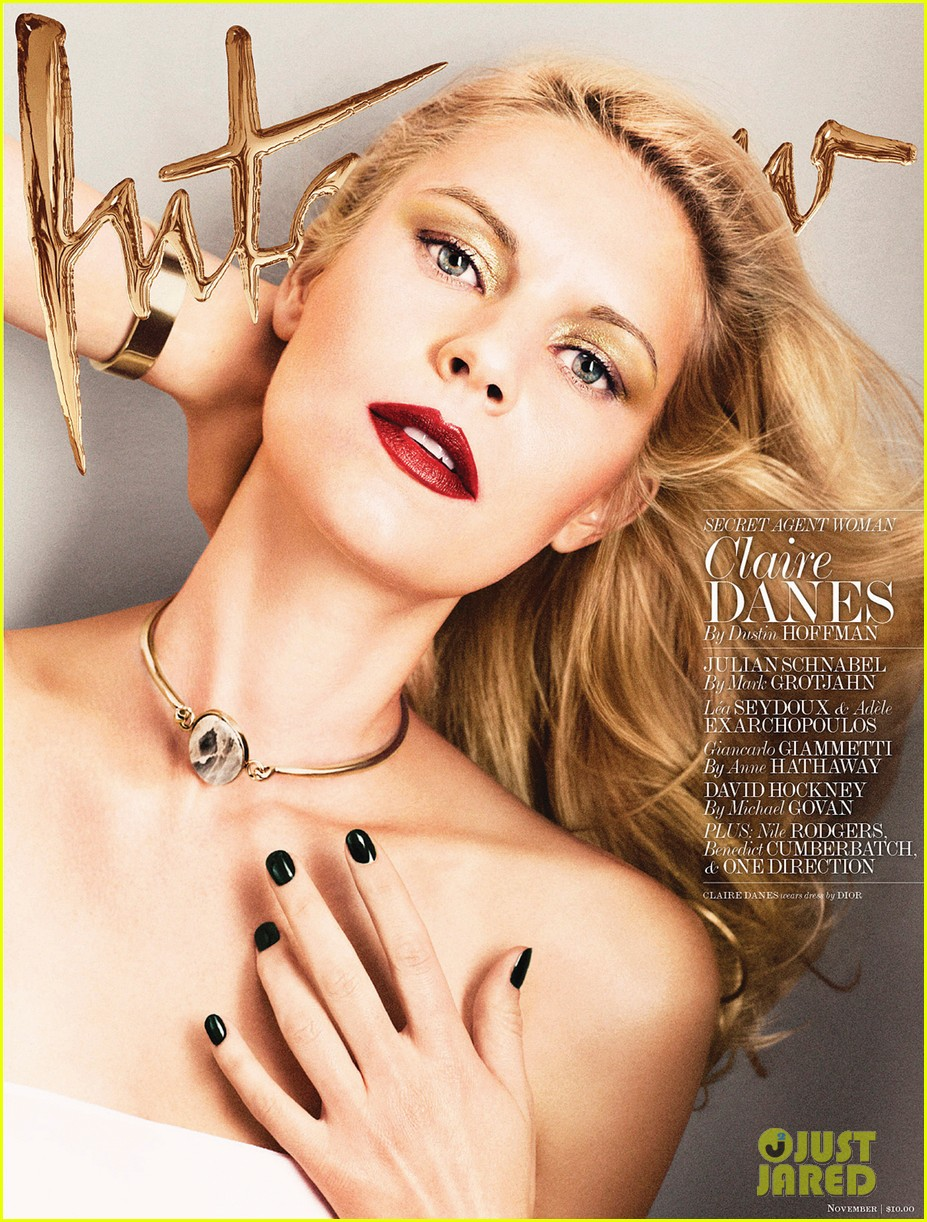 claire danes poses topless for interviews latest issue 01