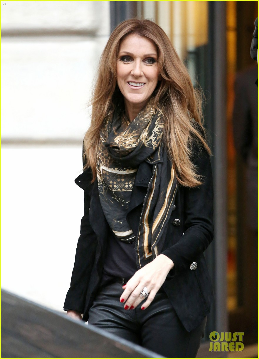 celine dion promotes loved me back to life in france 152992673