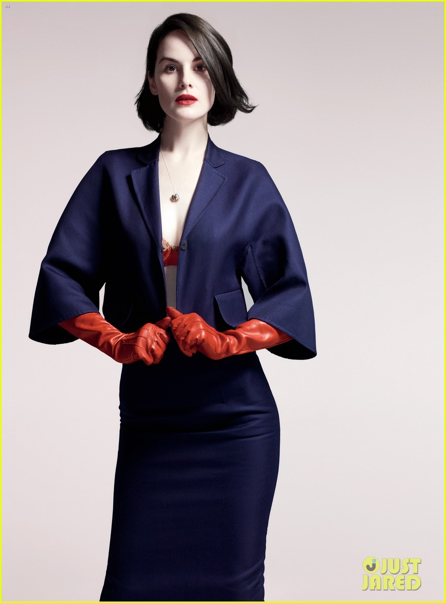 michelle dockery covers boston common holiday issue 02
