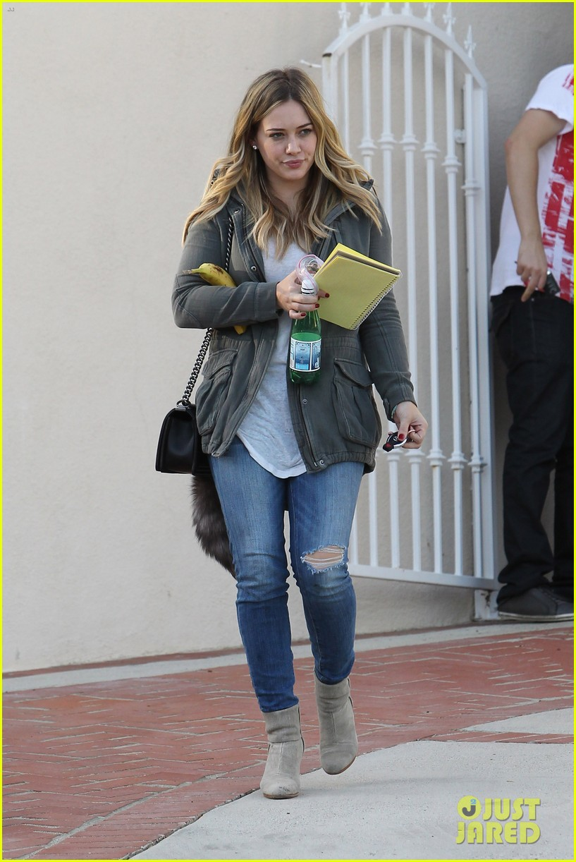 hilary duff only baby im working on is my album 122987570