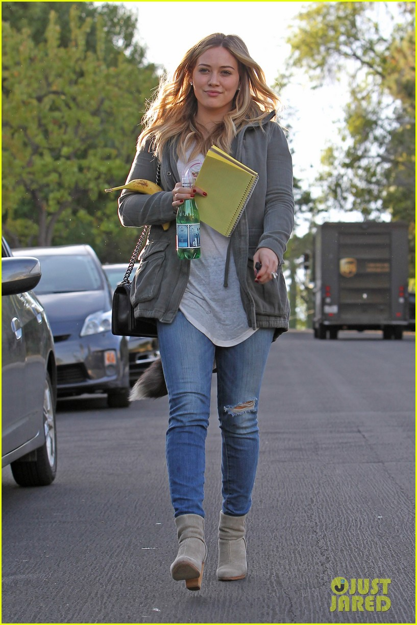 hilary duff only baby im working on is my album 13