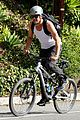 josh duhamel bares his biceps in muscle tank on bike ride 23