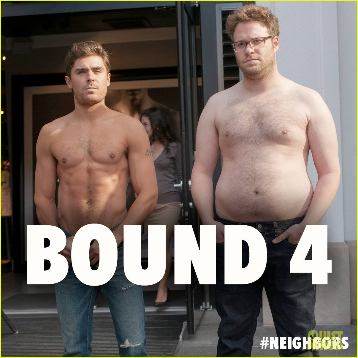 zac efron jokes hes in bound 4 with new shirtless photo 02