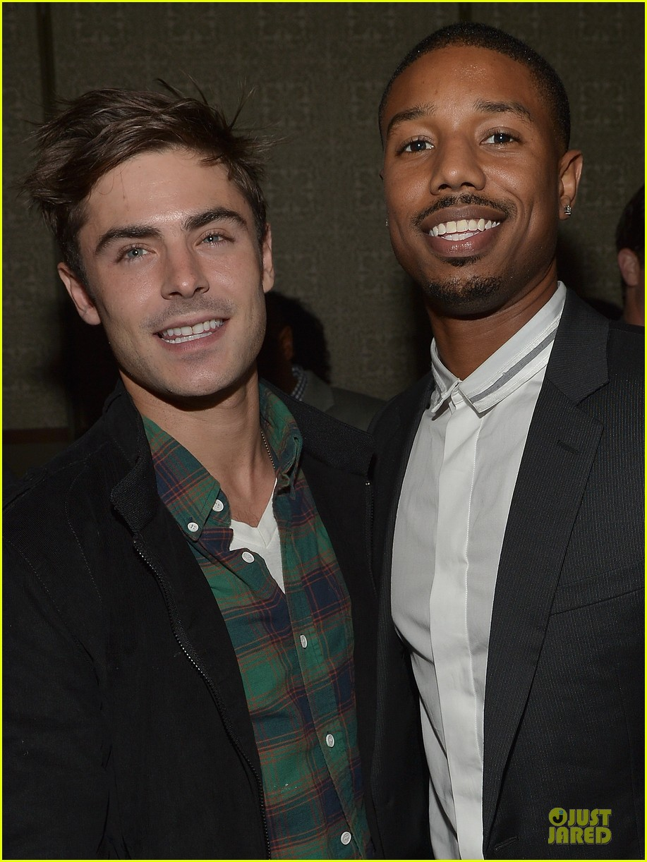 zac efron vanity fair event honoring michael b jordan 02