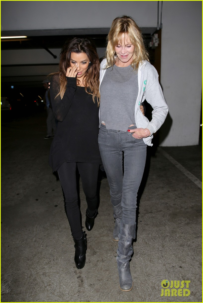 eva longoria melanie griffith enjoy girls night out 14