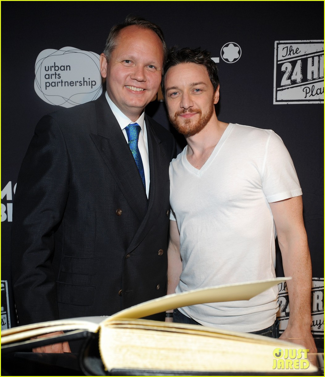 jesse tyler ferguson james mcavoy 24 hour plays on broadway after party 20