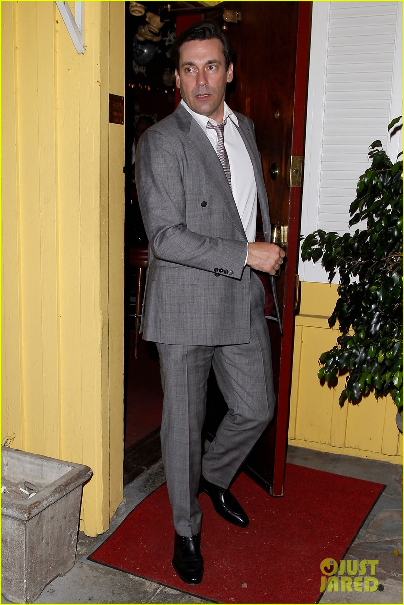 jon hamm dines with sean penn his kids dylan hopper 11
