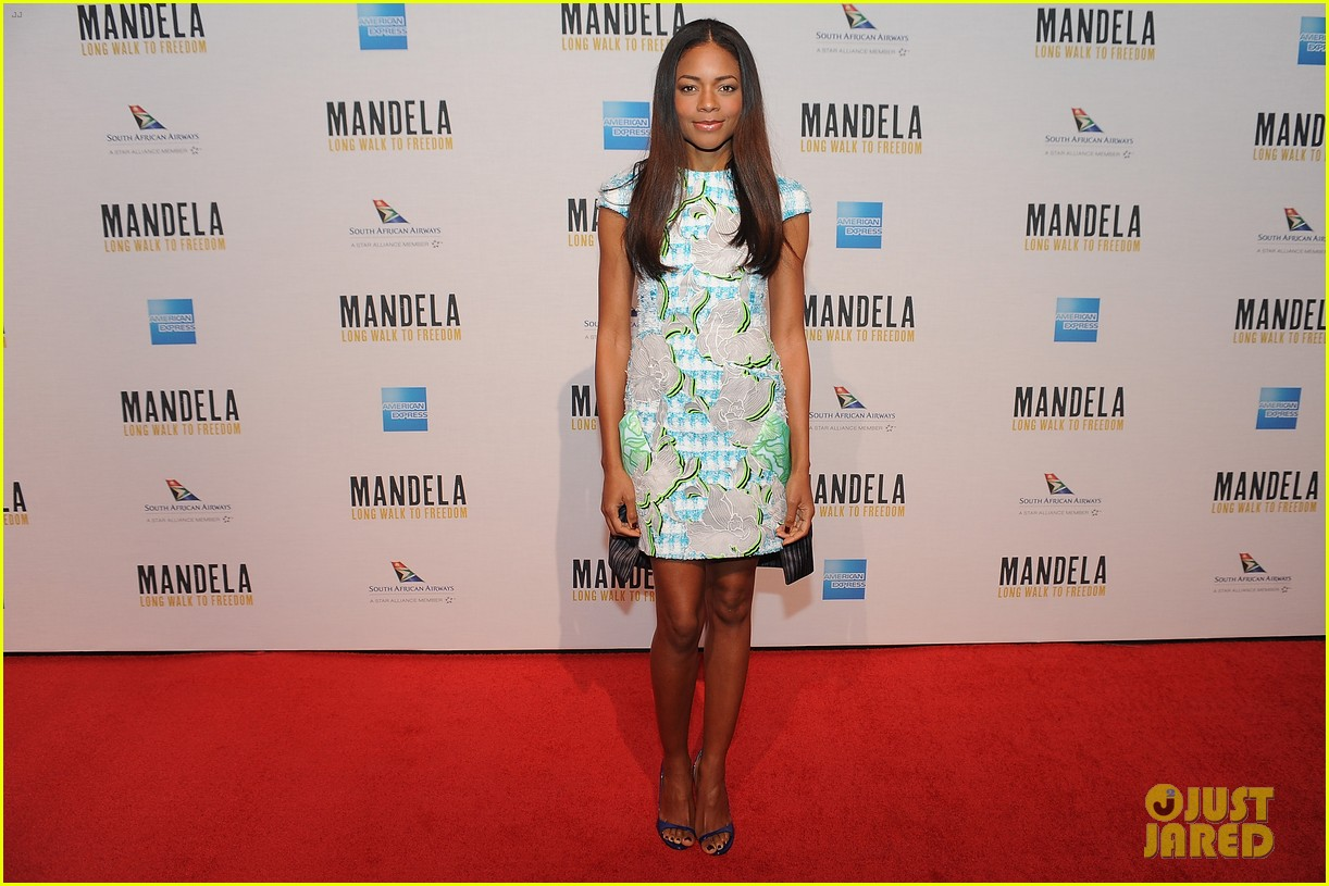 naomie harris mandela dc photo call with hillary clinton 012997124