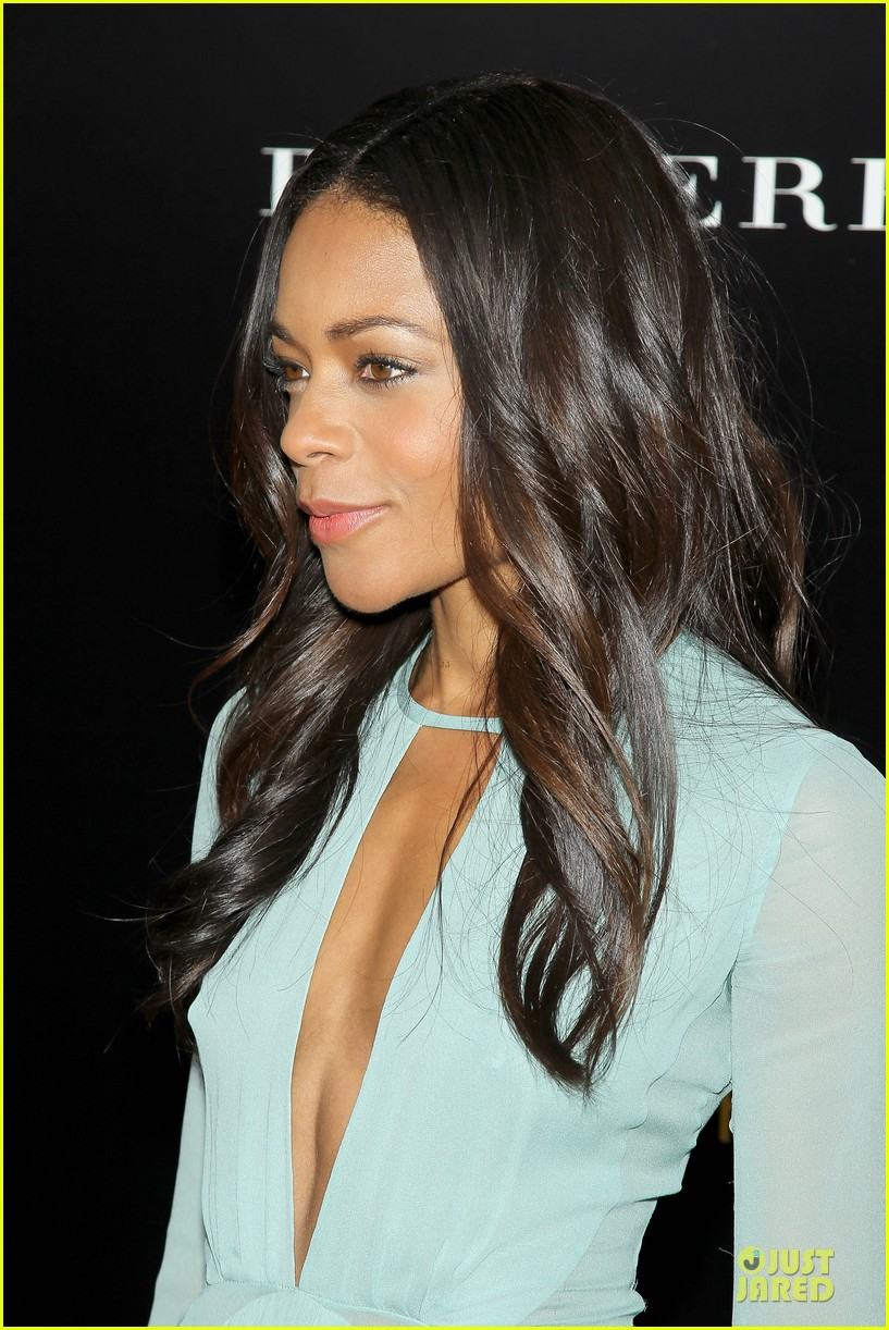 naomie harris idris mandela nyc screening 133000372