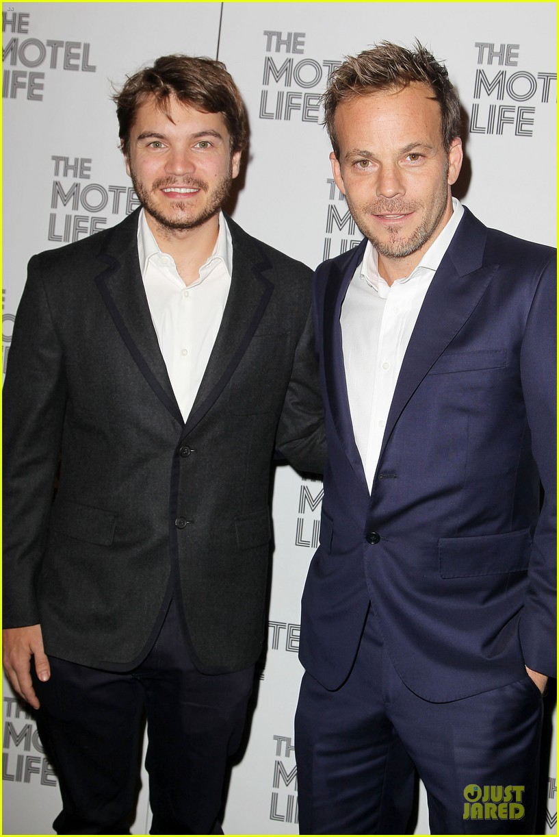 emile hirsch stephen dorff the motel life nyc screening 032986230