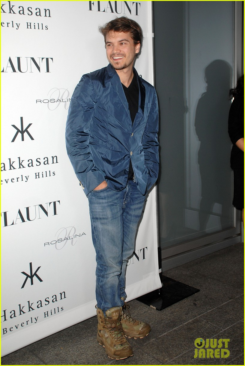emile hirsch lydie hearst flaunt magazine launch party 142988309