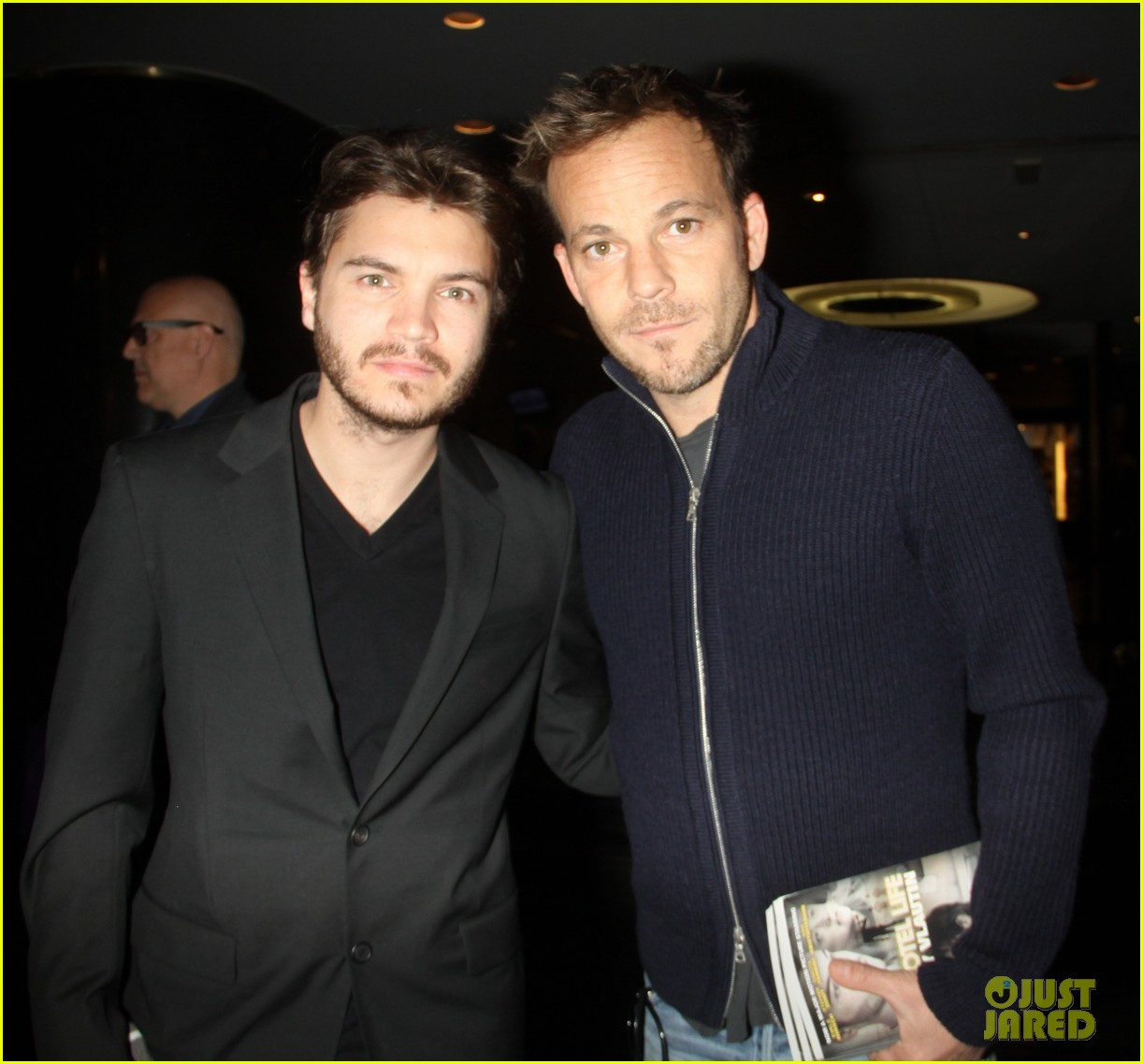 emile hirsch stephen dorff promote motel life in nyc 032987590