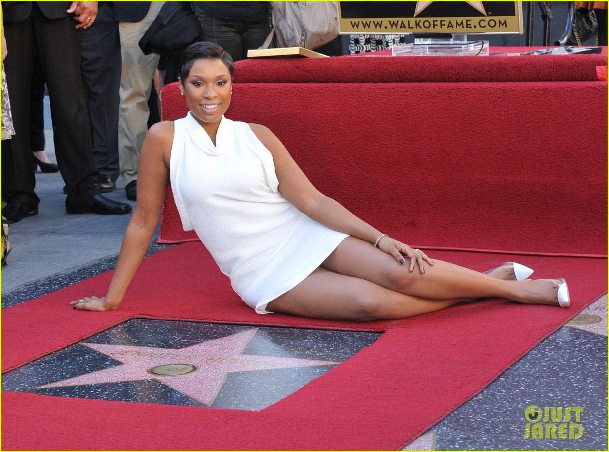 jennifer hudson receives star on hollywood walk of fame 14