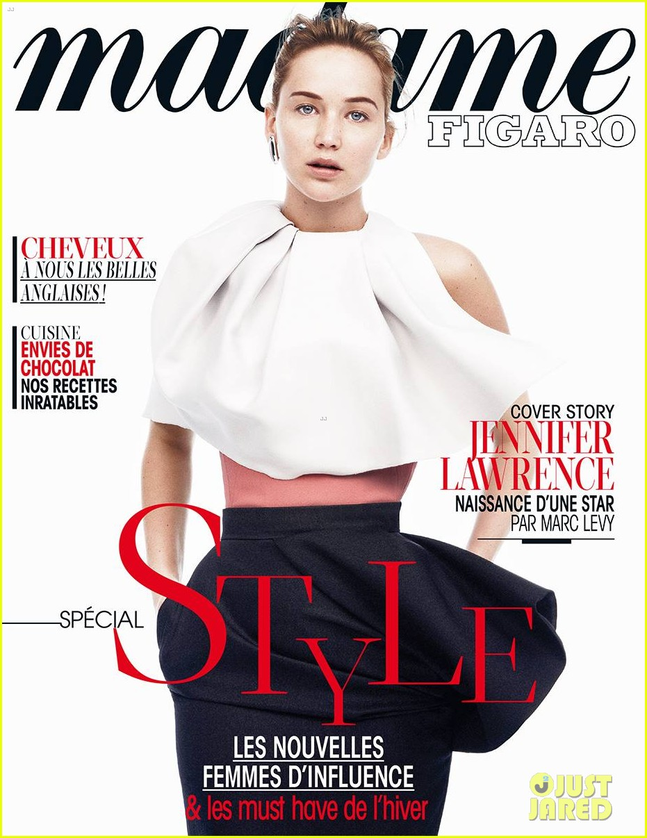 jennifer lawrence madame figaro style issue 01