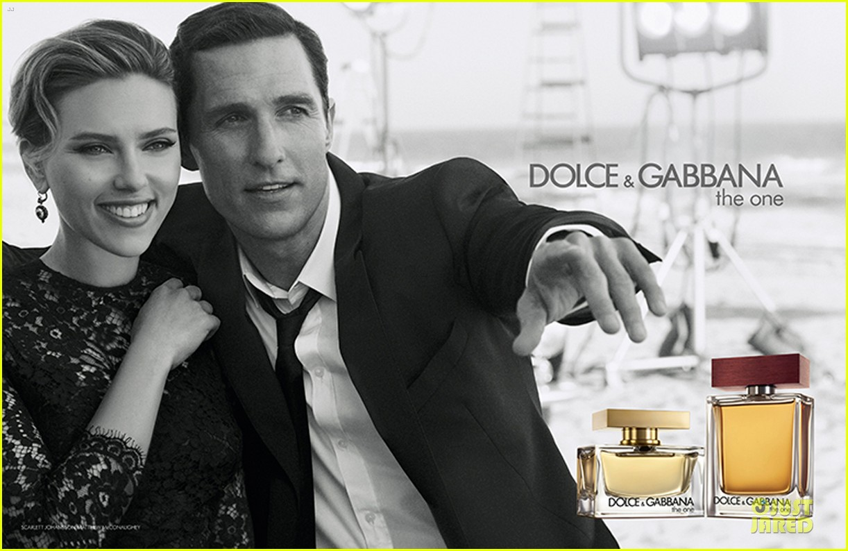 scarlett johansson matthew mcconaughey dolce gabbana ad video watch now 01