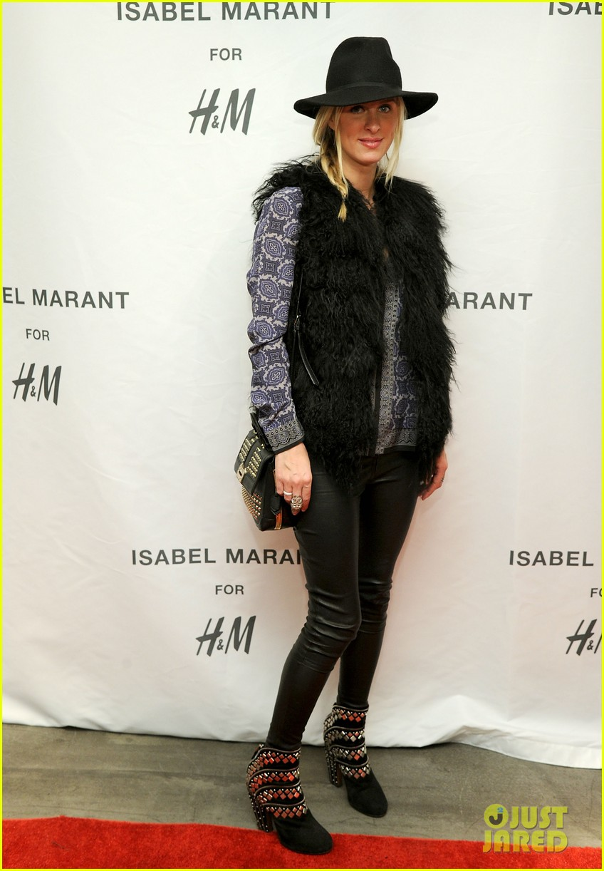 milla jovovich molly sims isabel marant for hm shoppers 03