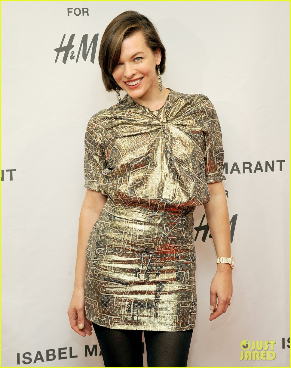 milla jovovich molly sims isabel marant for hm shoppers 19