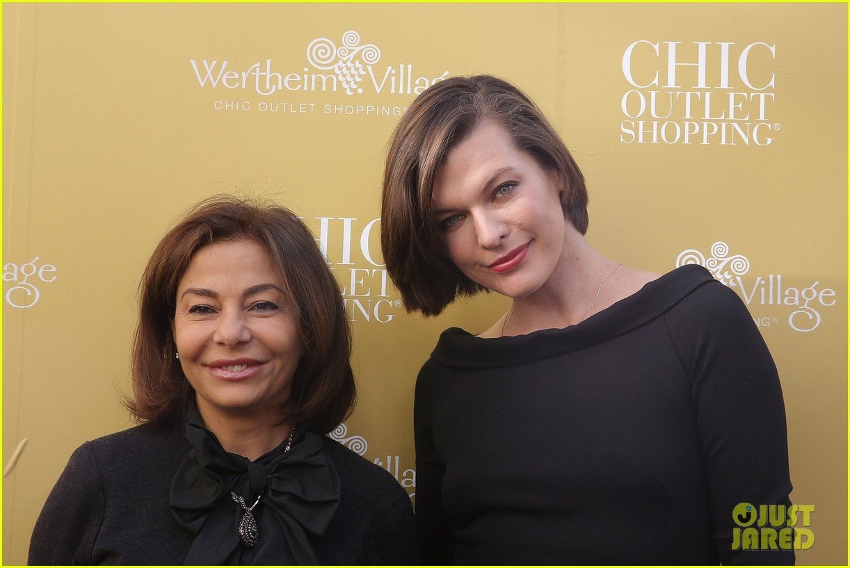 milla jovovich wertheim village 10th anniversary celebration 17